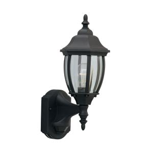 1 Light Outdoor Motion Detector Wall Lantern