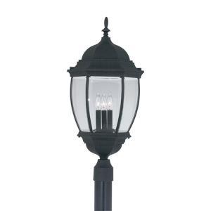 Triverton - Three Light Outdoor Post Lantern