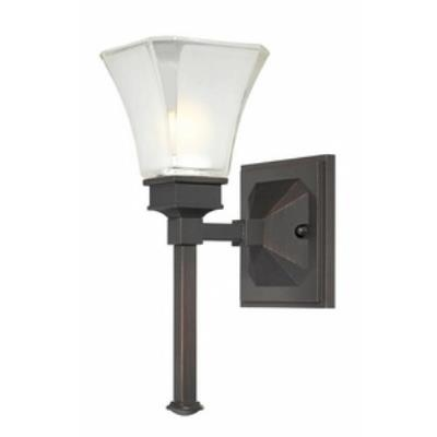 Designers Fountain 6661-BBR Canterbury - One Light Bath Fixture