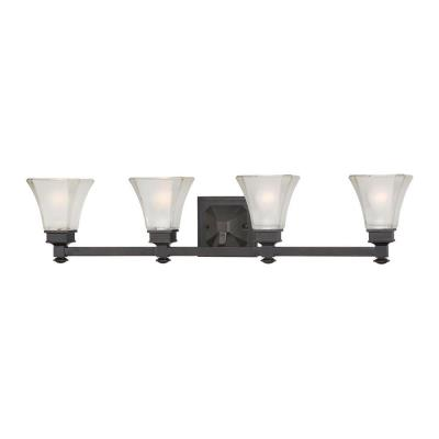 Designers Fountain 6664-BBR Canterbury - Four Light Bath Fixture