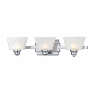 Designers Fountain 6673-CH Metropolis - Three Light Bath Fixture