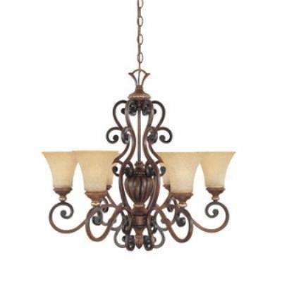 Designers Fountain 81586-BWG 6-Light Chandelier
