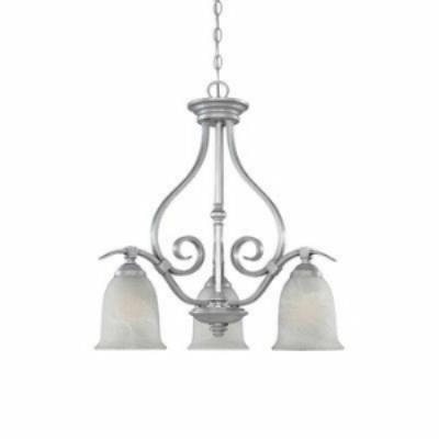 Designers Fountain 81783-MTP 3-Light Down Chandelier