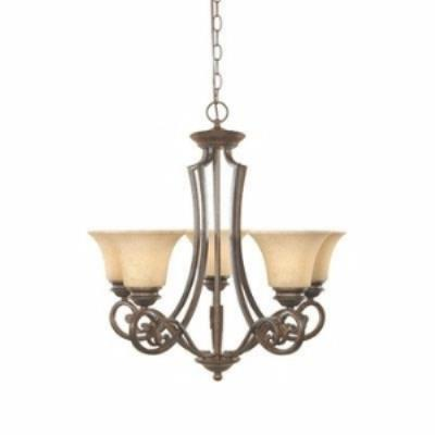 Designers Fountain 81885-FSN 5-Light Chandelier