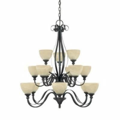 Designers Fountain 828815 Del Amo - Fifteen Light Chandelier