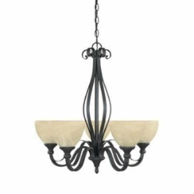 Designers Fountain 82885 Del Amo - Five Light Chandelier