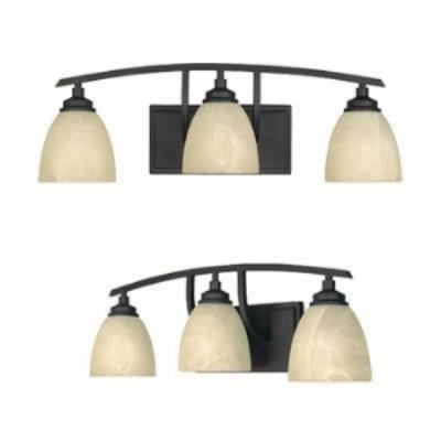 Designers Fountain 82903 Tackwood - Three Light Bath Bar