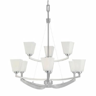Designers Fountain 83089-SP Avanti - Nine Light Chandelier