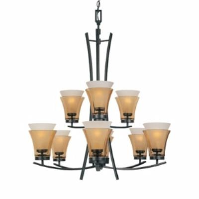 Designers Fountain 83189-ORB Majorca - Nine Light Chandelier