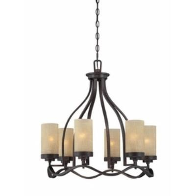 Designers Fountain 83686-TU Castello - Six Light Chandelier