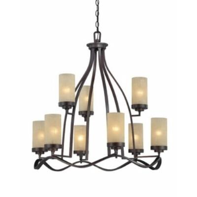 Designers Fountain 83689-TU Castello - Nine Light Chandelier