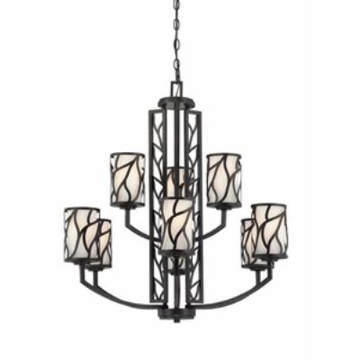Designers Fountain 83789-ART Modesto - Nine Light Chandelier