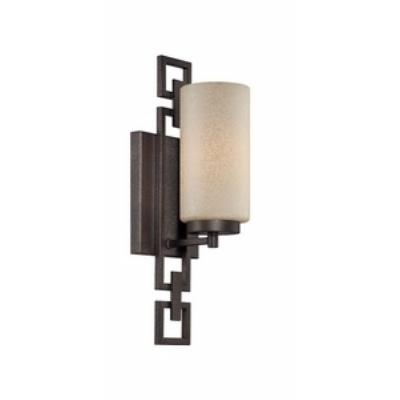 Designers Fountain 83801-FBZ Del Ray - One Light Bath Fixture