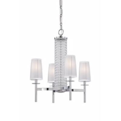 Designers Fountain 83984-CH Candence - Four Light Chandelier