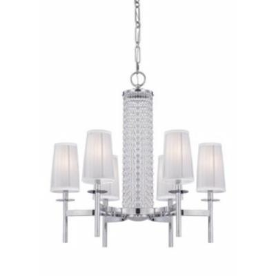 Designers Fountain 83986-CH Candence - Six Light Chandelier