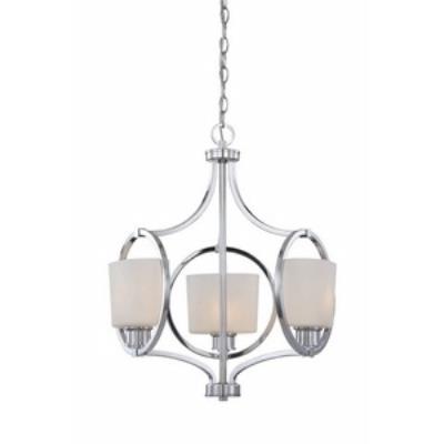 Designers Fountain 84083-CH Mirage - Three Light Chandelier