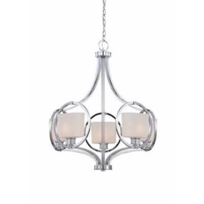 Designers Fountain 84085-CH Mirage - Five Light Chandelier