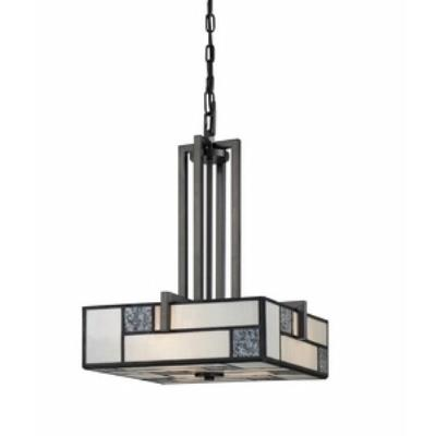 Designers Fountain 84131-CHA Bradley - Three Light Inverted Pendant