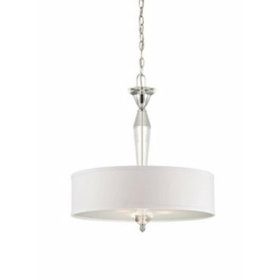 Designers Fountain 84231-CH Palatial - Three Light Pendant