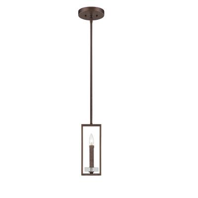 Designers Fountain 84330-FBZ Fieldhouse - One Light Mini-Pendant