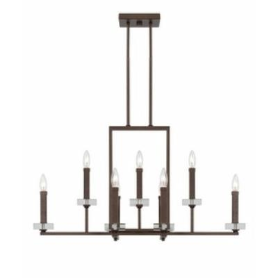 Designers Fountain 84389-FBZ Fieldhouse - Nine Light Chandelier