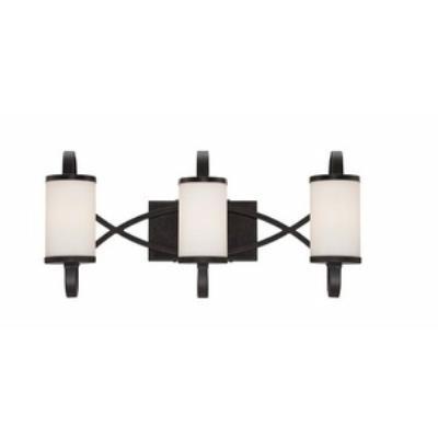 Designers Fountain 84403-ART Bellemeade - Three Light Bath Bar