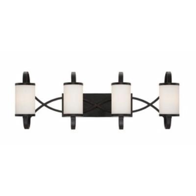 Designers Fountain 84404-ART Bellemeade - Four Light Bath Bar