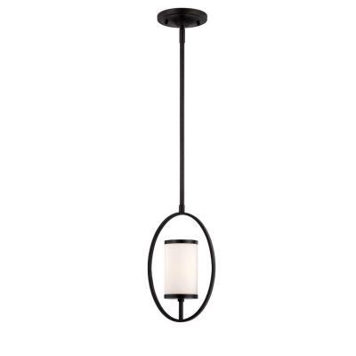 Designers Fountain 84430-ART Bellemeade - One Light Mini-Pendant