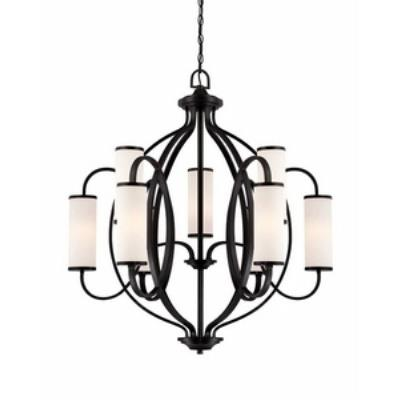 Designers Fountain 84489-ART Bellemeade - Nine Light Chandelier