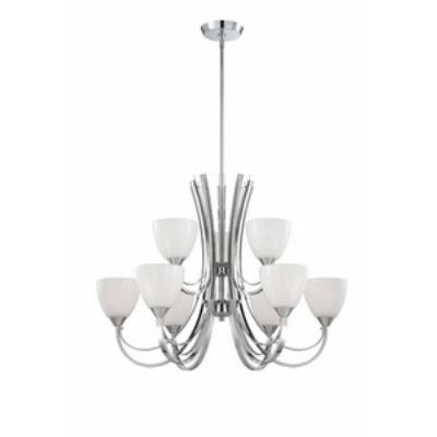 Designers Fountain 84689-CH Cortona - Nine Light Chandelier