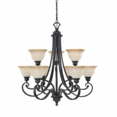 Designers Fountain 96189-NI 9-Light Chandelier