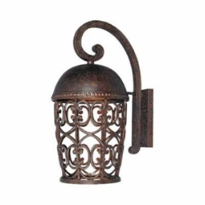 Designers Fountain 97593-BU Amherst - One Light Outdoor Wall Lantern