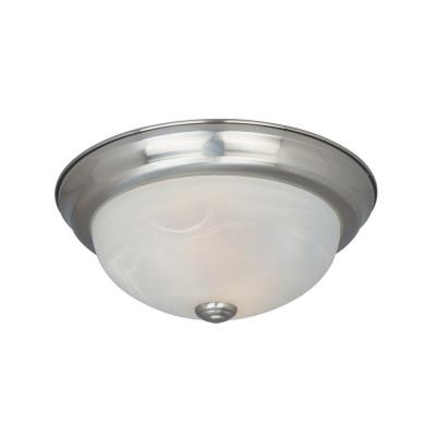 Designers Fountain ES1257M-SP-AL Two Light Semi-Flush Mount