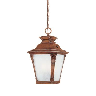 Designers Fountain ES20724-AVW Lancaster - One Light Outdoor Hanging Lantern