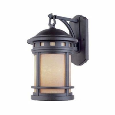 Designers Fountain ES2381-AM-ORB Sedona - One Light Outdoor Wall Lantern