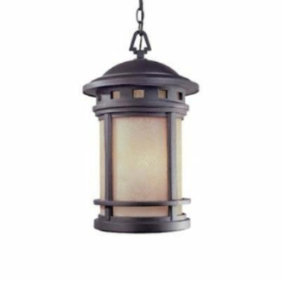 Designers Fountain ES2394-AM-ORB Sedona - One Light Outdoor Hanging Lantern
