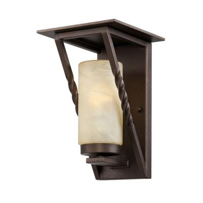 Designers Fountain ES31921-FBZ Parkview - One Light Outdoor Wall Lantern