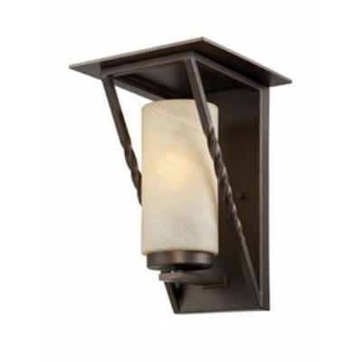 Designers Fountain ES31931-FBZ Parkview - One Light Outdoor Wall Lantern