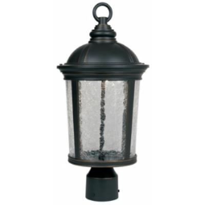 "Designers Fountain LED21346-ABP Winston - 9"" LED Post Lantern"
