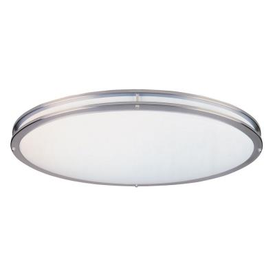 Designers Fountain S117OLCFL-SN Two Light Flush Mount
