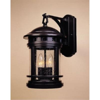 Designers Fountain 2381-ORB Sedona - Three Light Outdoor Wall Lantern