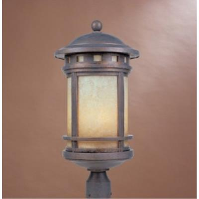 Designers Fountain 2396-AM-MP Sedona - Three Light Outdoor Post Lantern