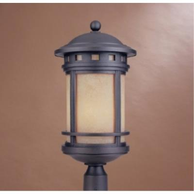 Designers Fountain 2396-AM-ORB Sedona - Three Light Outdoor Post Lantern