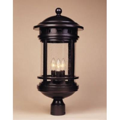 Designers Fountain 2396-ORB Sedona - Three Light Outdoor Wall Lantern