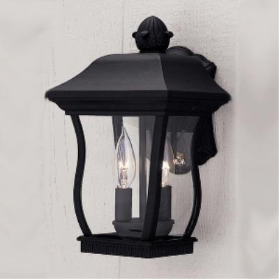 Designers Fountain 2712-BK Chelsea - Two Light Outdoor Wall Lantern