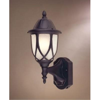 Designers Fountain 2867MD-BK Capella Motion Detector - One Light Outdoor Wall Lantern