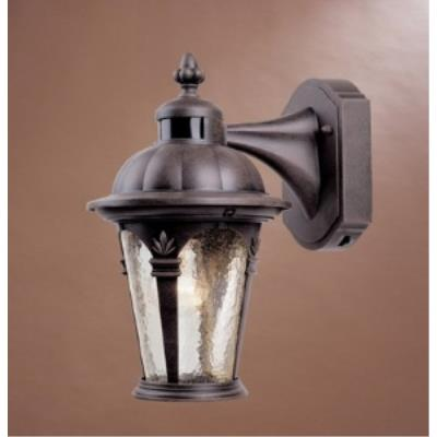 Designers Fountain 2900MD-AG Quintessence Motion Detector - One Light Outdoor Wall Lantern