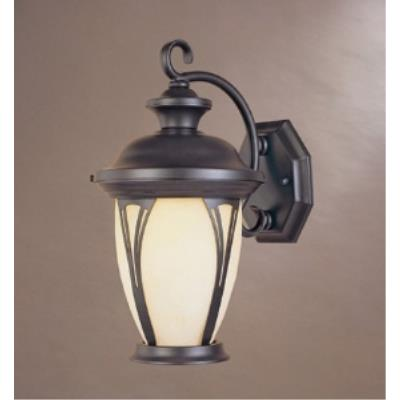 Designers Fountain 30531-AM-BZ Westchester - Three Light Outdoor Wall Lantern