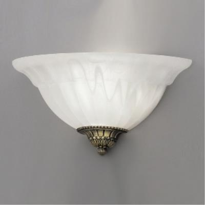 Designers Fountain 6021-AST 1 Light Wall Sconce With Scavo Glass And Accent Caps