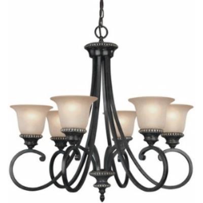 Dolan Lighting 1750-148 Hastings - Six Light Chandelier